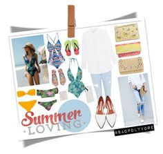 Sunday (24/7/2016) by saopolyvore on Polyvore featuring ファッション, Mara Hoffman, Marysia Swim, Topshop, River Island, Acne Studios, Aéropostale, Sophie Anderson, Glint and Boohoo