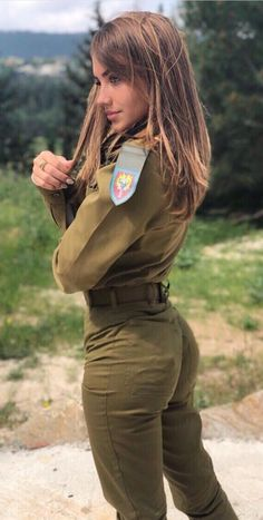 Deadly military women also deserve to fight for their country just like men. Woman have served in the military in greater number than before. Military services all open for both gender. Idf Women, Military Women, Military Girl, Military Fashion, Military Style, Girls Uniforms, Military Uniforms, Sexy Hot Girls, Army Girls