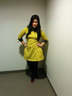 Francoise dress from tilly and the buttons made by me #sopbac