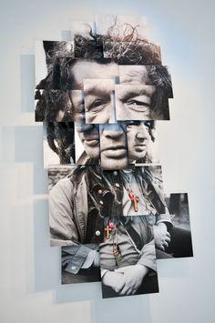 """""""Farid"""" photosculpture by Brno Del Zou brnodelzou@ouvaton.org"""