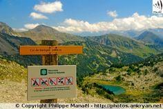 Néouvielle depuis le col de Barèges (France, Midi-Pyrénées, Hautes-Pyrénées)