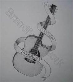 Tags Guitar Drawing Tattoo Design Art Stuff