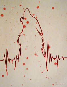 Line is from the beat of your heart. I want to use it in my drawing! I really…