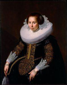 The Athenaeum - Portrait of Catharina van Voorst (Paulus Moreelse - )