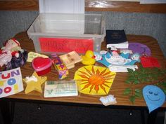 A singing time box for Sunbeams.