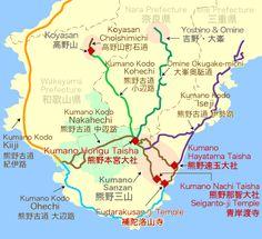 Kumano Kodo walking routes