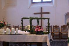 einde kerkelijk jaar bloemschikken