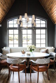 Design Crush: Park and Oak Design - greige design Home Design, Küchen Design, Dining Nook, Dining Room Design, Dining Table, Home Interior, Interior Design, Decoration Bedroom, Home Kitchens