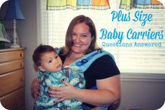 If you have questions about plus size baby carriers or plus size babywearing, we have answers!