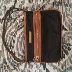 Michael Kors small purse The purse did not come with a chain when it was purchased but i attached one for convenience. Michael Kors Bags Satchels
