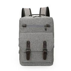 Men Canvas Backpack Schoolbags School Bag For girl Boy Teenagers Casual Travel bags