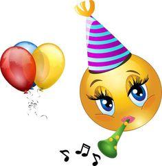 Happy Birthday Emoji Copy And Paste - Best Happy Birthday Wishes Birthday Emoticons, Happy Birthday Emoji, Happy Birthday Celebration, Happy Birthday Images, Happy Birthday Greetings, Party Emoji, Smiley Emoji, Smiley Faces, Funny Emoji Faces
