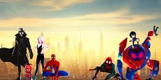 Spider-Man: Into the Spider-Verse Spider-Man Noir Spider-Gwen Spider-Ham Peter Parker Miles Morales Peni Parker 8k Wallpaper, Verses Wallpaper, Wallpaper Backgrounds, Desktop Wallpapers, Gwen Spider, Spiderman Spider, Spiderman Marvel, Amazing Spiderman, Marvel Dc