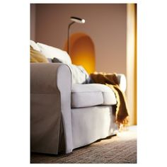 EKTORP Loveseat - Decke beige - Witch Wants - Chemistry Informations Ikea Ektorp, Ektorp Sofa, Sofas, Loveseat Covers, Loveseats, Cushion Filling, Polyurethane Foam, Timeless Design, Seat Cushions