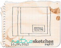 retro sketches : a challenge: retrosketches #87...