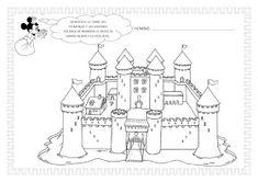ESOS LOCOS BAJITOS DE INFANTIL: MAS FICHAS DEL PROYECTO LOS CASTILLOS Medieval Knight, Medieval Castle, Chateau Moyen Age, Dragons, Castle Project, Knight Party, History, Knights, Valencia