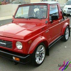 Samurai, Jimny Suzuki, Dropped Trucks, Ford Capri, Mini Trucks, Jeep Life, Katana, Kustom, Cool Cars