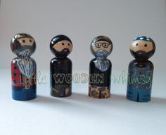 Hey, I found this really awesome Etsy listing at http://www.etsy.com/listing/158634021/duck-dynasty-peg-doll-set