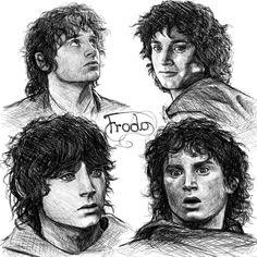 frodo_sketches_by_manweri-d2zljj8.jpg (1000×1000)