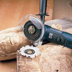 угловая шлифовальная машина древесины
