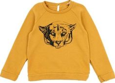 Hundred Pieces Puma Sweater Ochre `14 years Fabrics : Quilted cotton jersey Details : Ochre, Animal print, Straight cut, Round neckline, Long sleeves, Pearlized button Style : Casual Style : Sportswear http://www.comparestoreprices.co.uk/january-2017-7/hundred-pieces-puma-sweater-ochre-14-years.asp