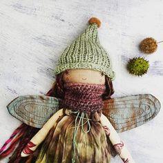 #dolls #handmade #fabricdoll #ragdolls #thedollsunique #fabric # ooak #pixie #pixiedolls #dolls #doll