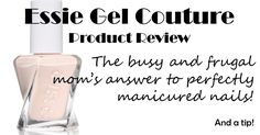 Here is an honest review of an imitation gel nail polish from a really busy and frugal mom! If you're like me and don't have the time or money to get professional gel manicures at the nail salon, and don't want to  redo your home DIY manicure every week then this nail polish is for you!