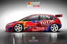 2011 Citröen C4 TC2000 – Equipo Red Bull-Total
