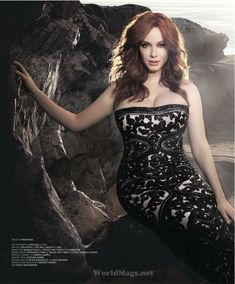 Christina Hendricks ...Stylish sex icon... She starred as Billy in How to Catch a Monster (2014)
