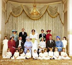 pprincess diana at nicholas soames wedding   Princesses