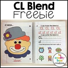 CL Blend Freebie by Crafty Bee Creations | Teachers Pay Teachers