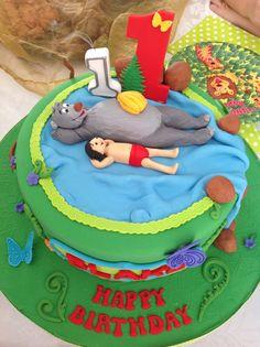 Jungle book cake 2nd Birthday, Birthday Ideas, Birthday Parties, Jungle Book Party, Cupcake Cakes, Cupcakes, Book Cakes, Party Things, Jungle Safari