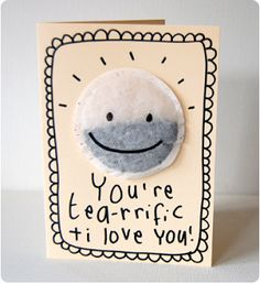 Alternative Valentine's - oh this is such soooo cute! I think this would be a lovely Mother's Day Card too!
