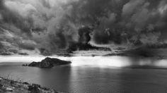 by Anna Vilardi - Landscapes Cloud Formations ( clouds, capri, sea, storm, italy )