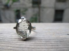 $75.00 Green Amethyst Other Worlds Ring by DesignsBySky on Etsy - I'm in love <3