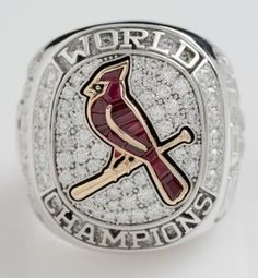 Cardinals rings: Rubies, diamonds and a rally squirrel