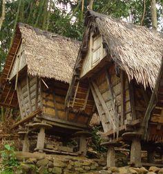 Baduy Rice house