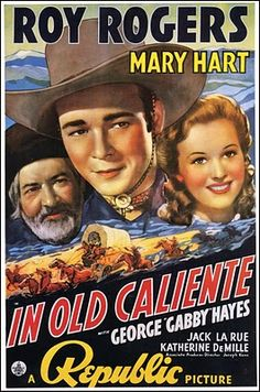 MARY HART,  (aka Lynn Roberts), played along side of Roy Rogers in this movie.  She was my Cousin.
