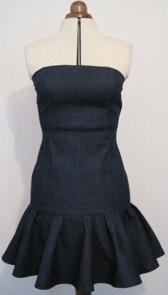Sassy Stretch Denim Dress.