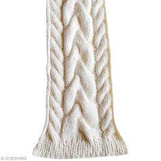 Tutoriel : Tricoter une écharpe tressée