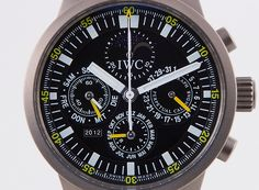 IWC GST-Chrono Perpetual Calendar - 3756-001  #montredo #iwc #GSTchrono #perpetualcalendar #watches