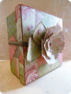 Crazy Quilt Box 1 by Etcetorize, via Flickr