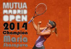 5/11/14 Newly crowned Madrid Open Champion Maria Sharapova jumps from #10 to #3 on the WTA leader-board: Road To Singapore -  the season's journey to the BNP Paribas WTA Championships that debuts in Singapore this October.