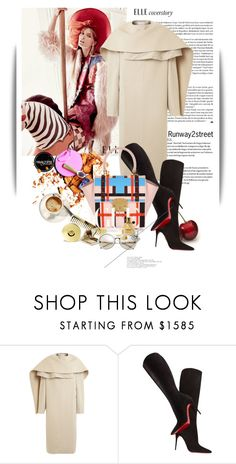 """RUNWAY2STREET"" by maja-k ❤ liked on Polyvore featuring PINGHE, FRUIT, Christian Louboutin and runway2street"
