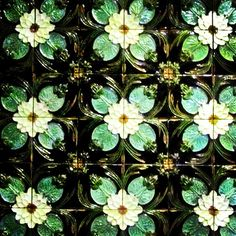 Bordallo Pinheiro tiles from the Berardo Collection at the Aliança Underground Museum, Portugal.