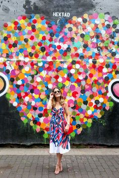 Hektad Hearts Mural New York City