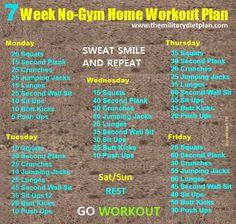 #fatloss #weightloss fatlossplan 7 Week No-Gym Home Workout Plans