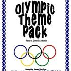"Included in this 23 page pack are:  -Olympic themed get to know you game  -""Find the Gold Medal"" school scavenger hunt  -All About Me project:  Decora..."