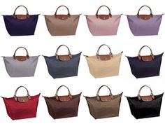 Longchamp... Can't decide which color I want.. Not too bright and definitely not a dull color