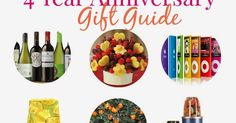 My 3 year anniversary gift guide was a huge hit last year so I am back again this year with a 4th year round up.  And for a little ba...